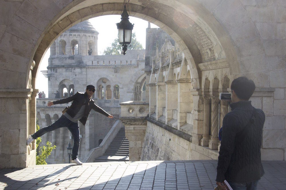Budapest Pictures: Fun at Matthias Church
