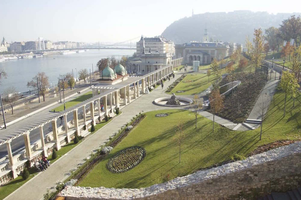 Budapest Pictures: Gardens of Budha Castle