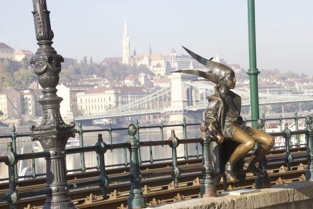 Budapest Pictures: Little Princess Statue