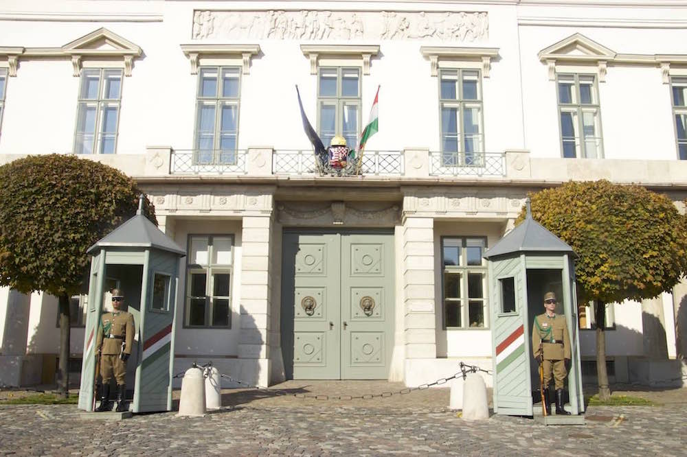 Budapest Pictures: Sandor Palace