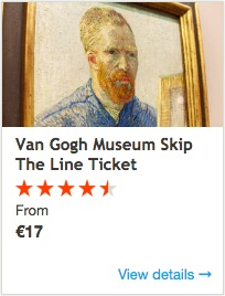 Van Gogh Ticket