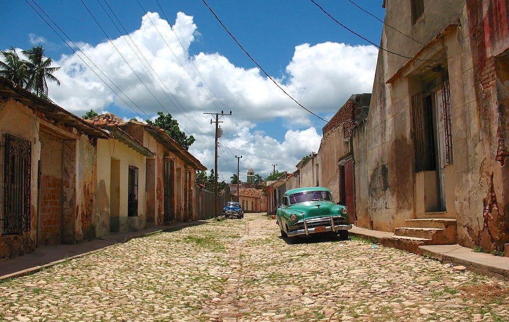 Random street in Trinidad