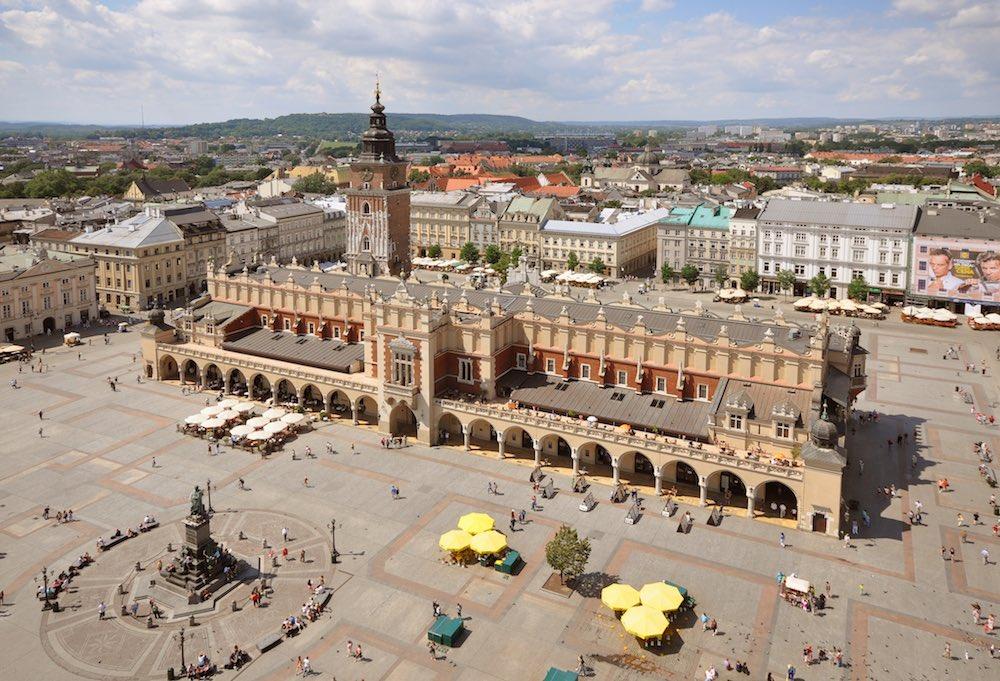Rynek Glowny Cracow