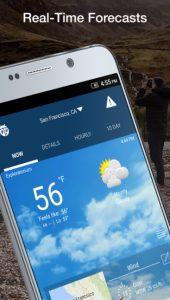 Screeeenshot WeatherBug App
